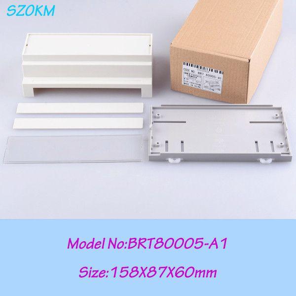 $47.00 (Buy here: https://alitems.com/g/1e8d114494ebda23ff8b16525dc3e8/?i=5&ulp=https%3A%2F%2Fwww.aliexpress.com%2Fitem%2F3-pcs-lot-free-shipping-abs-din-rail-enclosures-electronics-158-87-60mm%2F2013825322.html ) 3 pcs/lot free shipping abs din rail enclosures electronics  158*87*60mm for just $47.00