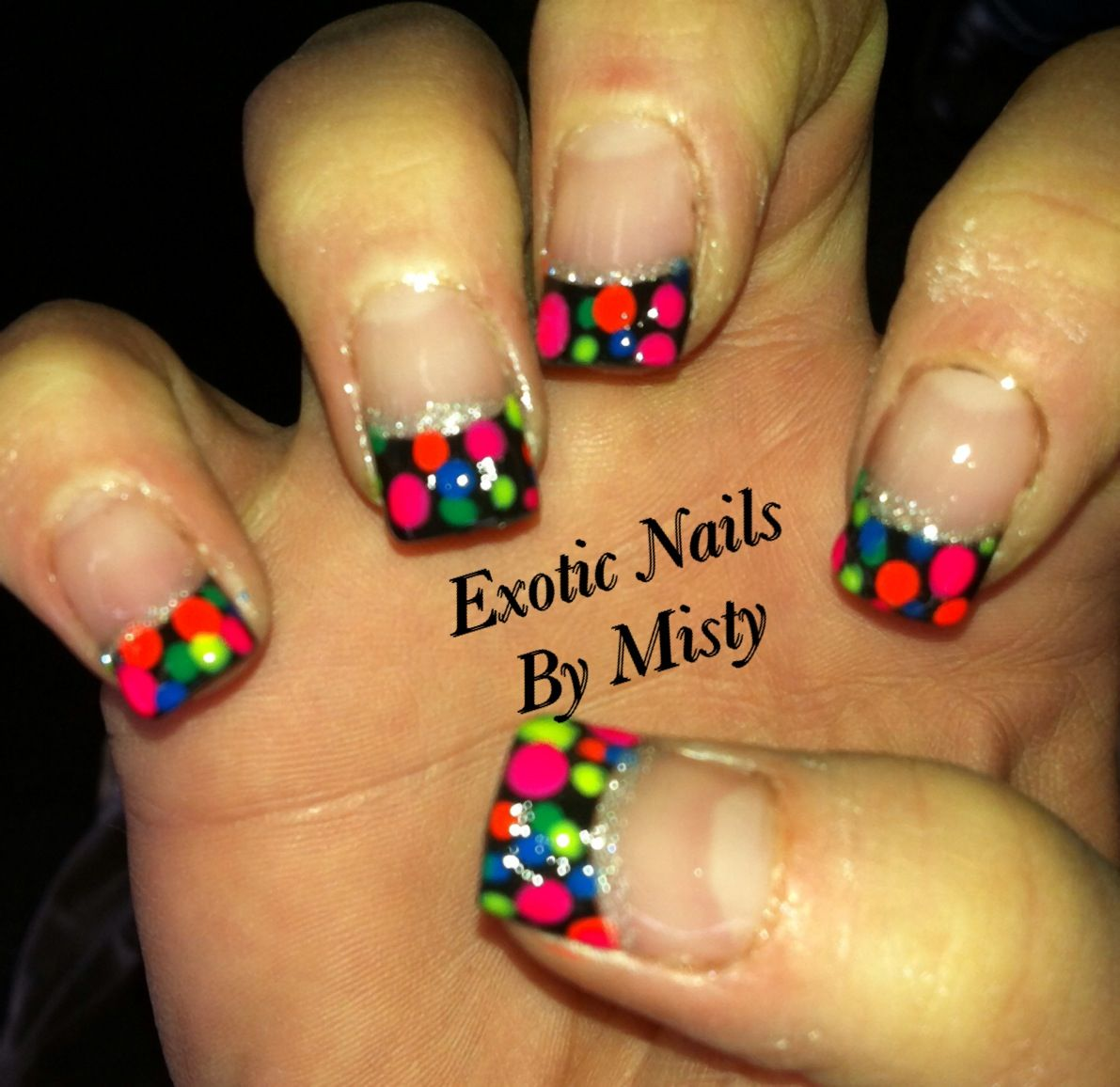 Pin by Misty Stringer on Exotic Nails Hand painted nail art ...