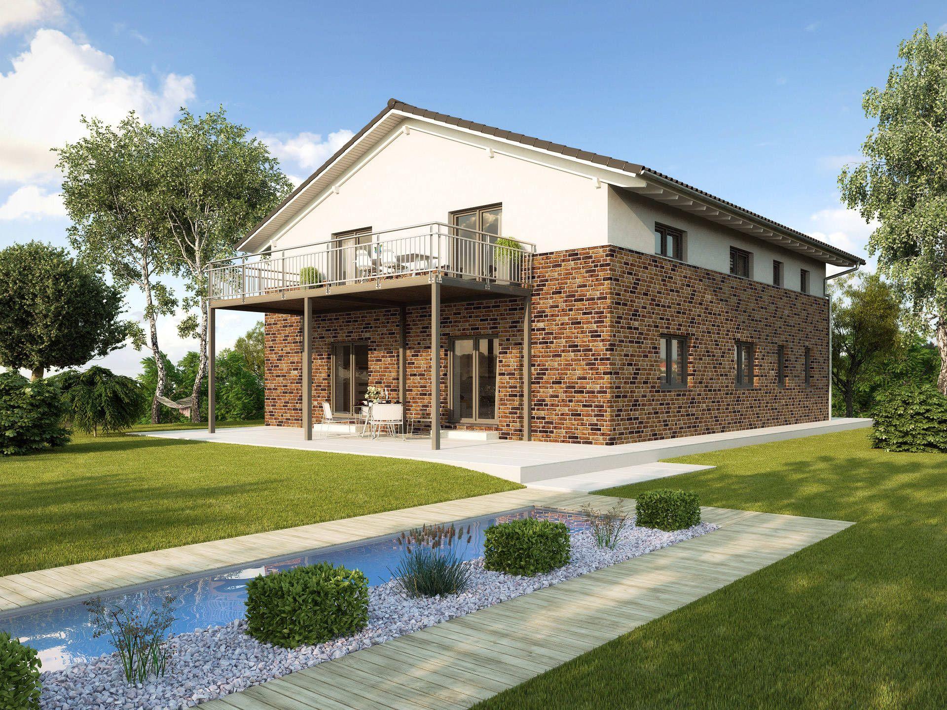 Zweifamilienhaus parma von gussek haus modernes for Zweifamilienhaus fertighaus
