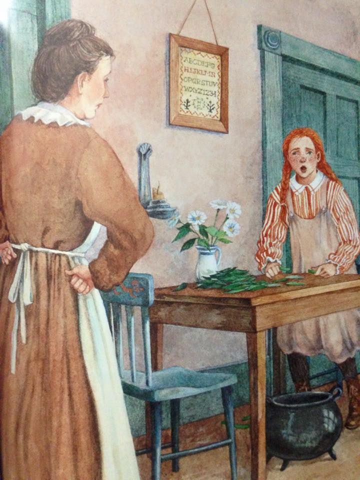 Anne Of Green Gables Anne And Marilla Cuthbert Anne Of