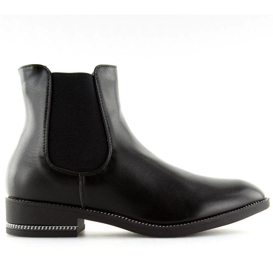 a4b13c67a3353 Sztyblety damskie czarne NC700 black | Botki damskie | Pinterest | Black