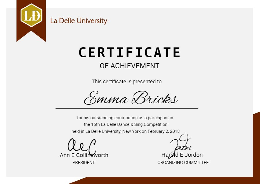 modern university diploma certificate design template graduation