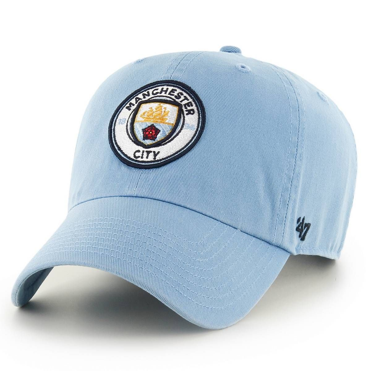 47 Brand EPL Manchester City Clean Up Cap Columbia