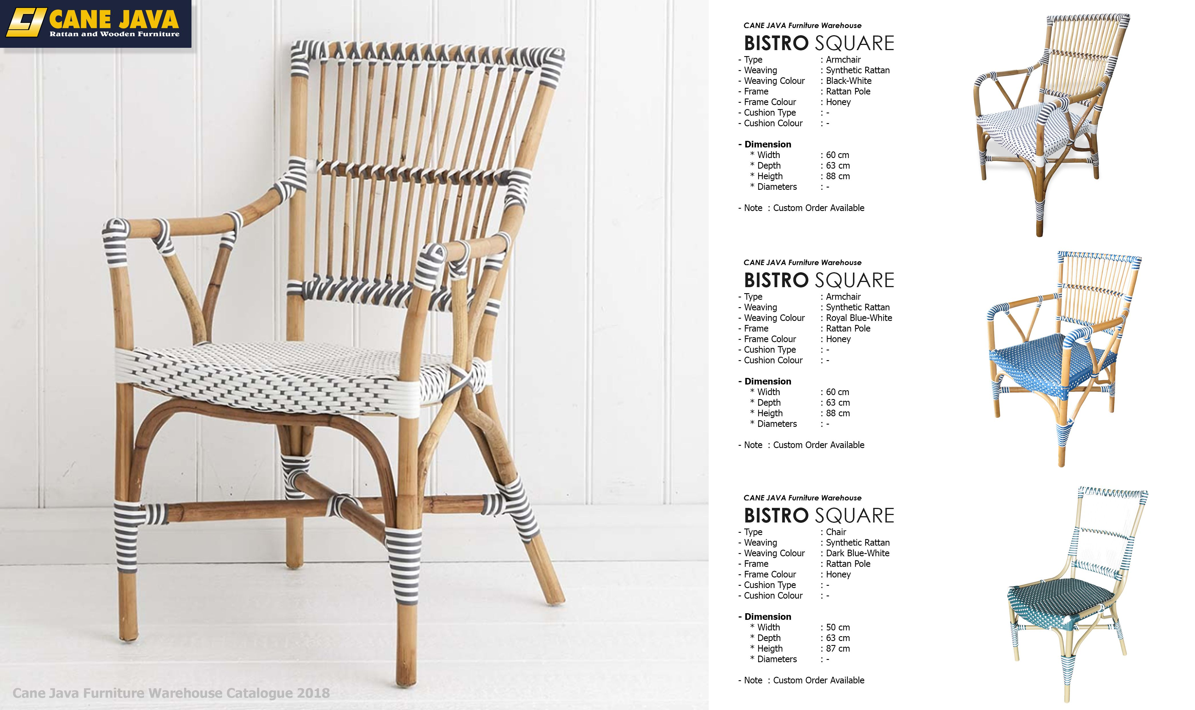 Pin By Cane Java Australia On Dining Rooms French Bistro Chairs