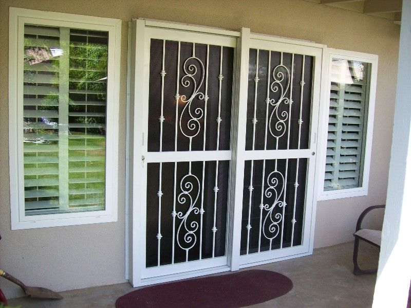 Securing The Back Patio Door Prepping The Home Pinterest