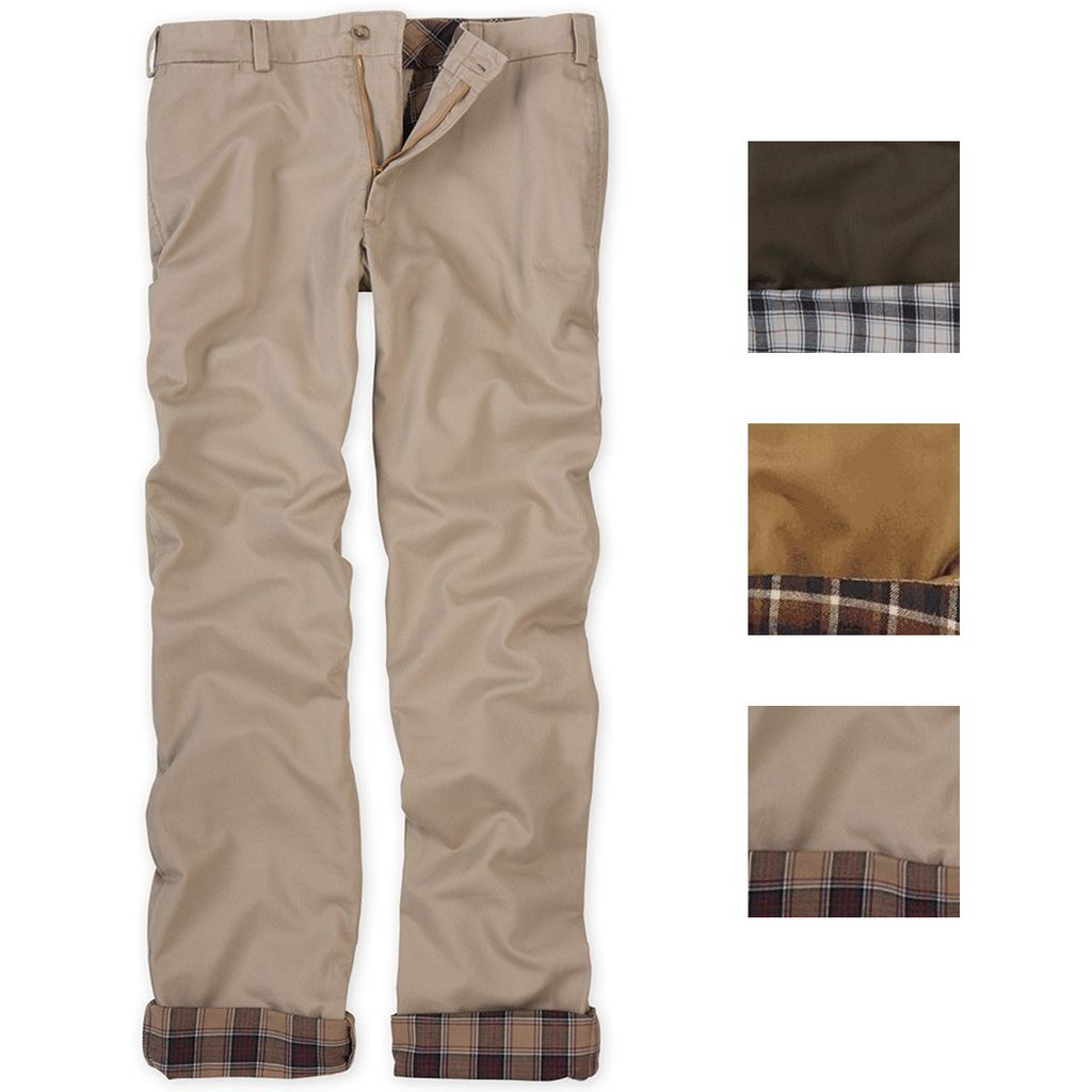Bill Khakis flannel lined pants