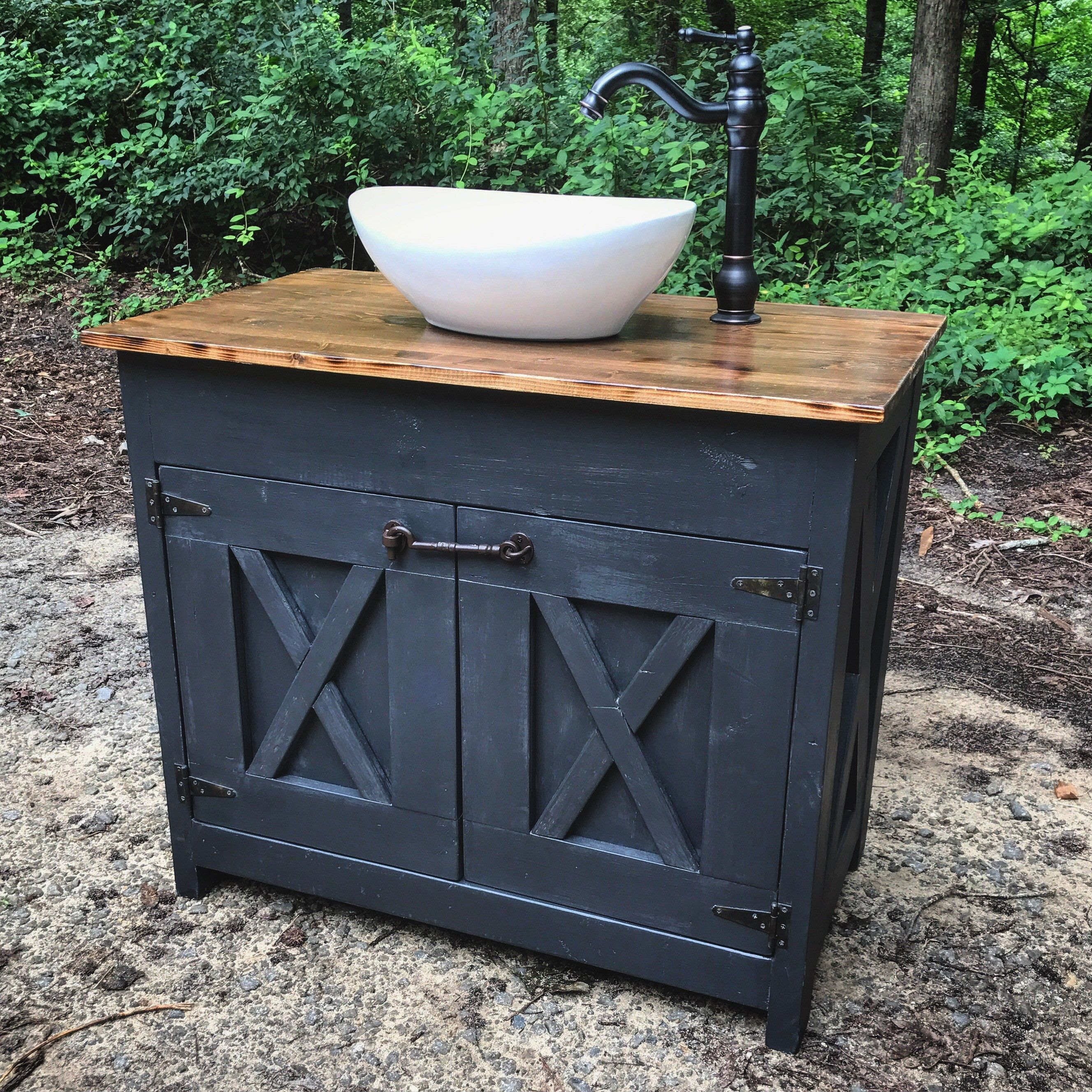 3 Foot Wide Vanity Single Sink 36 Wide 22 Deep 30 Inches Tall All Other Diffe Farmhouse Bathroom Vanity Bathroom Farmhouse Style Diy Bathroom Vanity