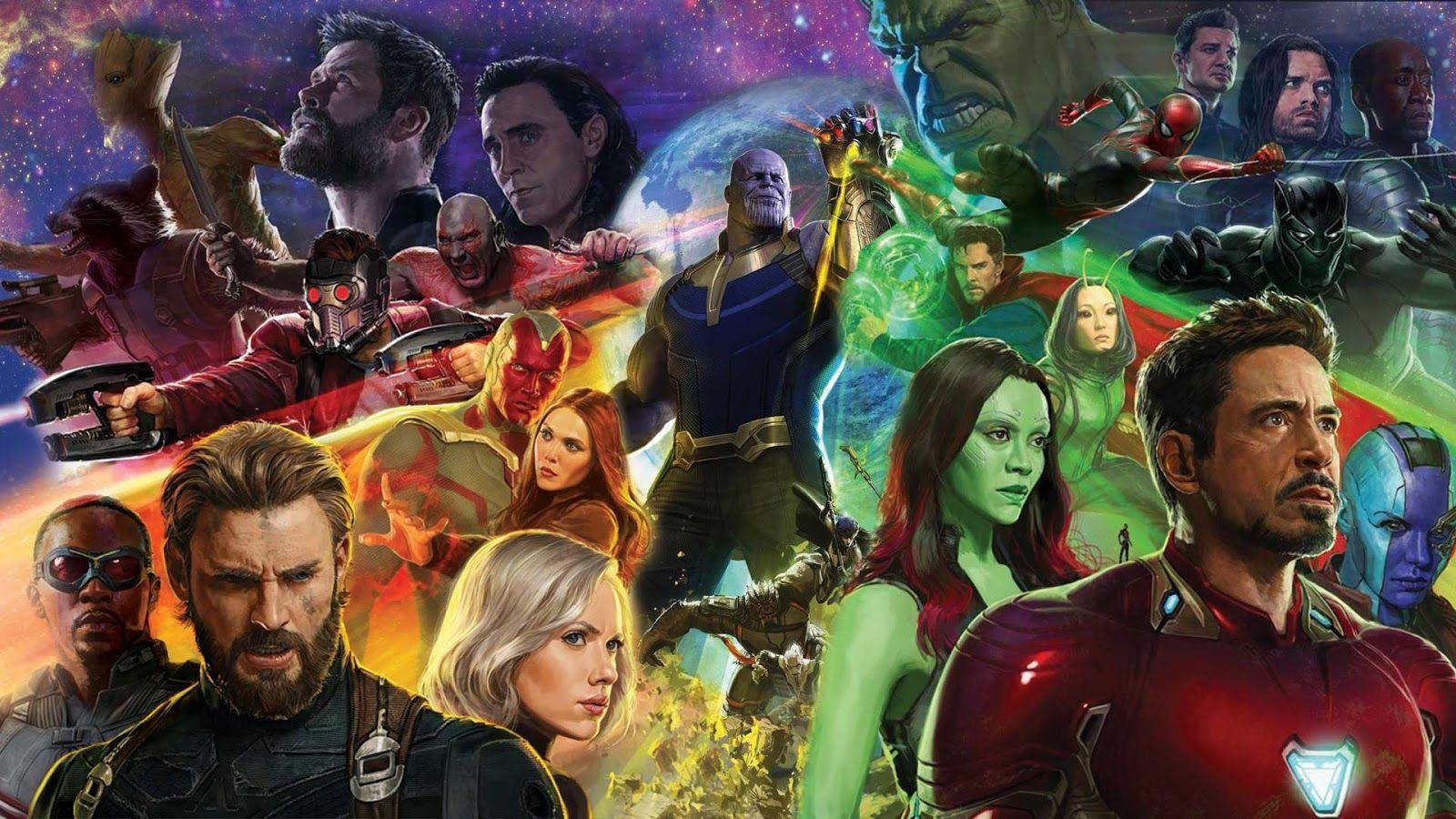 Infinite War Vingadores Infinity War Marvel