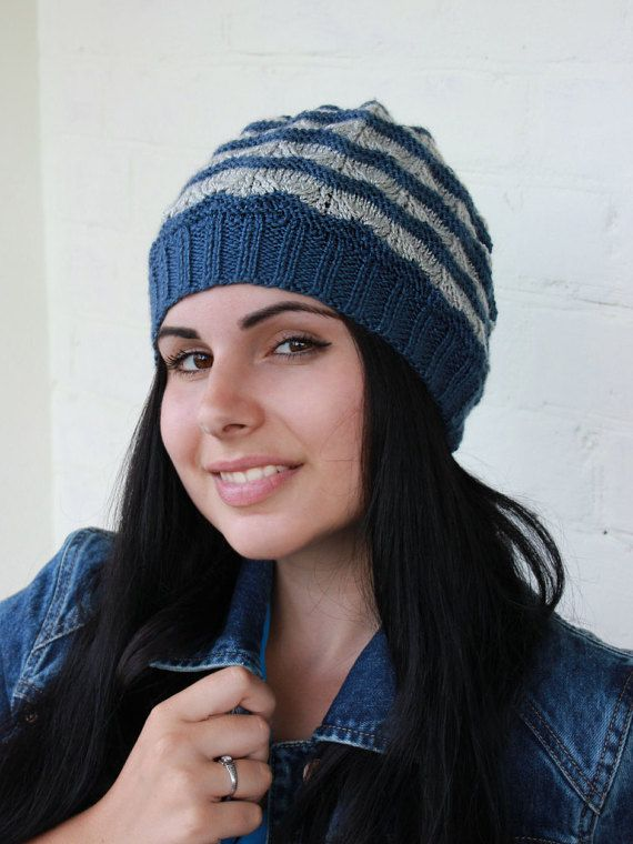 995a5f3d305 Knit hat Winter two color