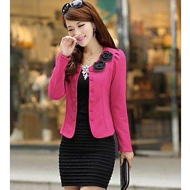 CoolCube Frauen korea ol Doppelbrust eleganten Anzug Blazer - EUR € 16.99