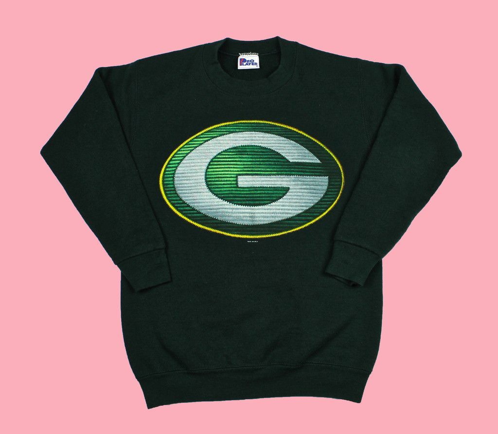 Vintage 1996 Green Bay Packers Crewneck Sweatshirt WOMENS Size Small