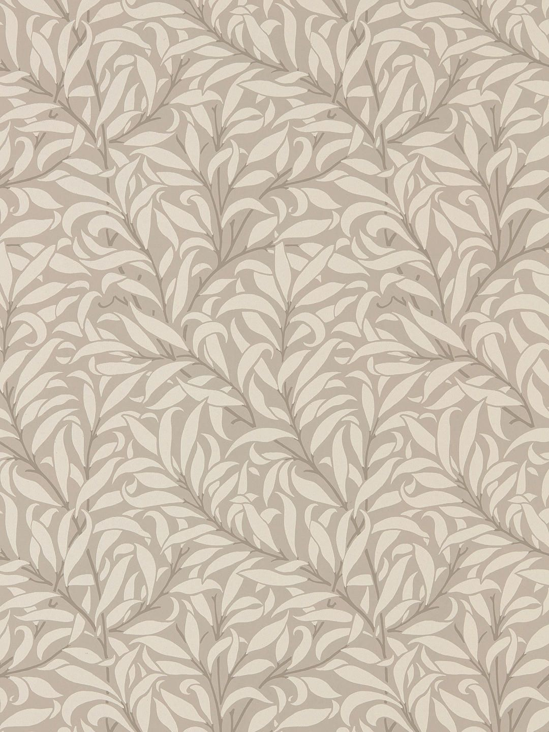 Morris & Co. Pure Willow Bough Wallpaper, Dove / Ivory