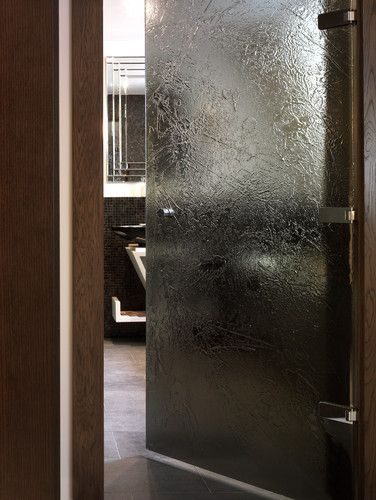 Textured Glass Shower Door Kiln Formed Glass Doors In