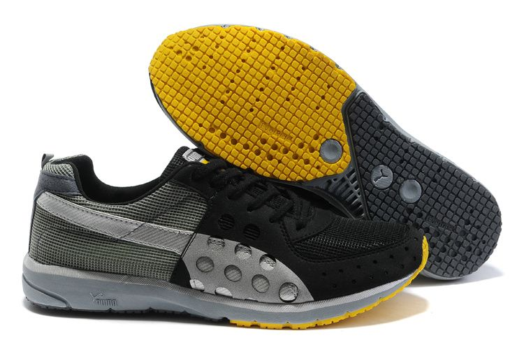 9e07b481 Shop Men's Puma Faas 300 Running Shoes Grey/Black/Tan   Puma Faas ...