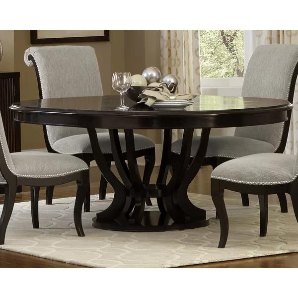 Charlton Home Sidra Dining Table Reviews Wayfair Oval Dining Room Table Oval Table Dining Dining Table
