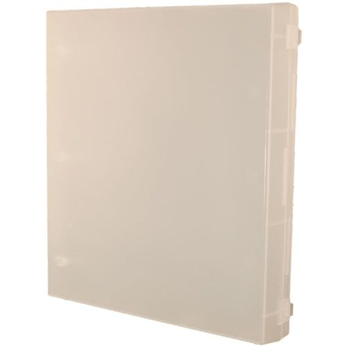 Crafter's Companion FULL SIZE CLEAR ENCLOSED STAMP BINDER