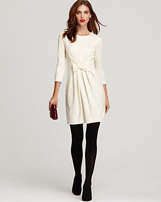 White Dress Tights Style Fashion Dresses Black Tights