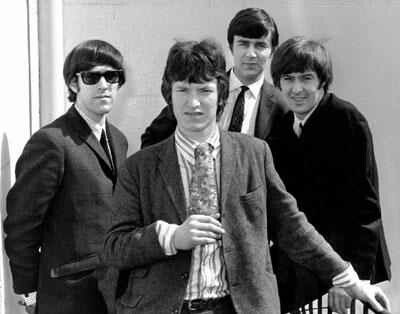 British band The Spencer Davis Group  Formed in Birmingham, England