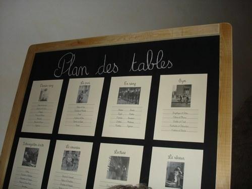 Plan de table sur ardoise | ✐ Mariage thème école | Pinterest ...