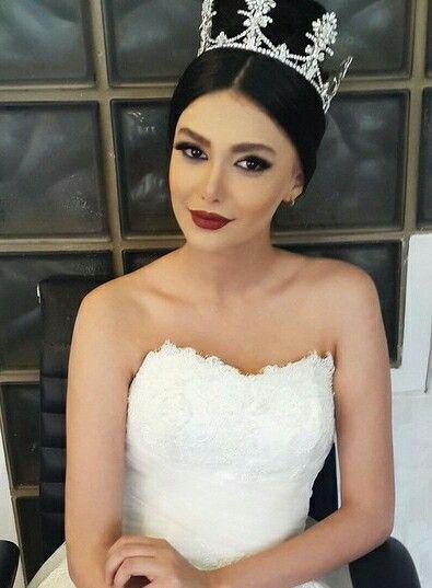 Bride Make Up آرایش عروس 2015 Bridal Makeup Wedding Hairstyles