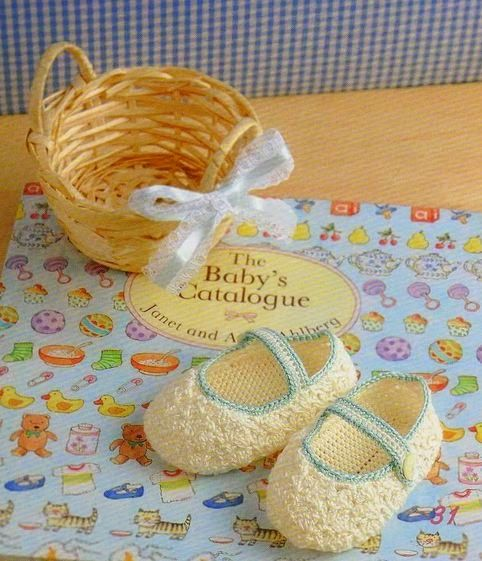 Patrones para tejer zapatitos de bebe con ganchillo | Zapatos y ...