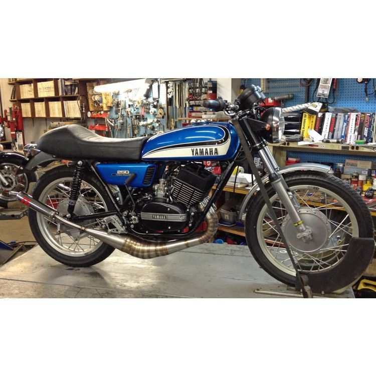 LSR105 Yamaha RD350 RD400 Exhaust by JL Exhaust | beautiful