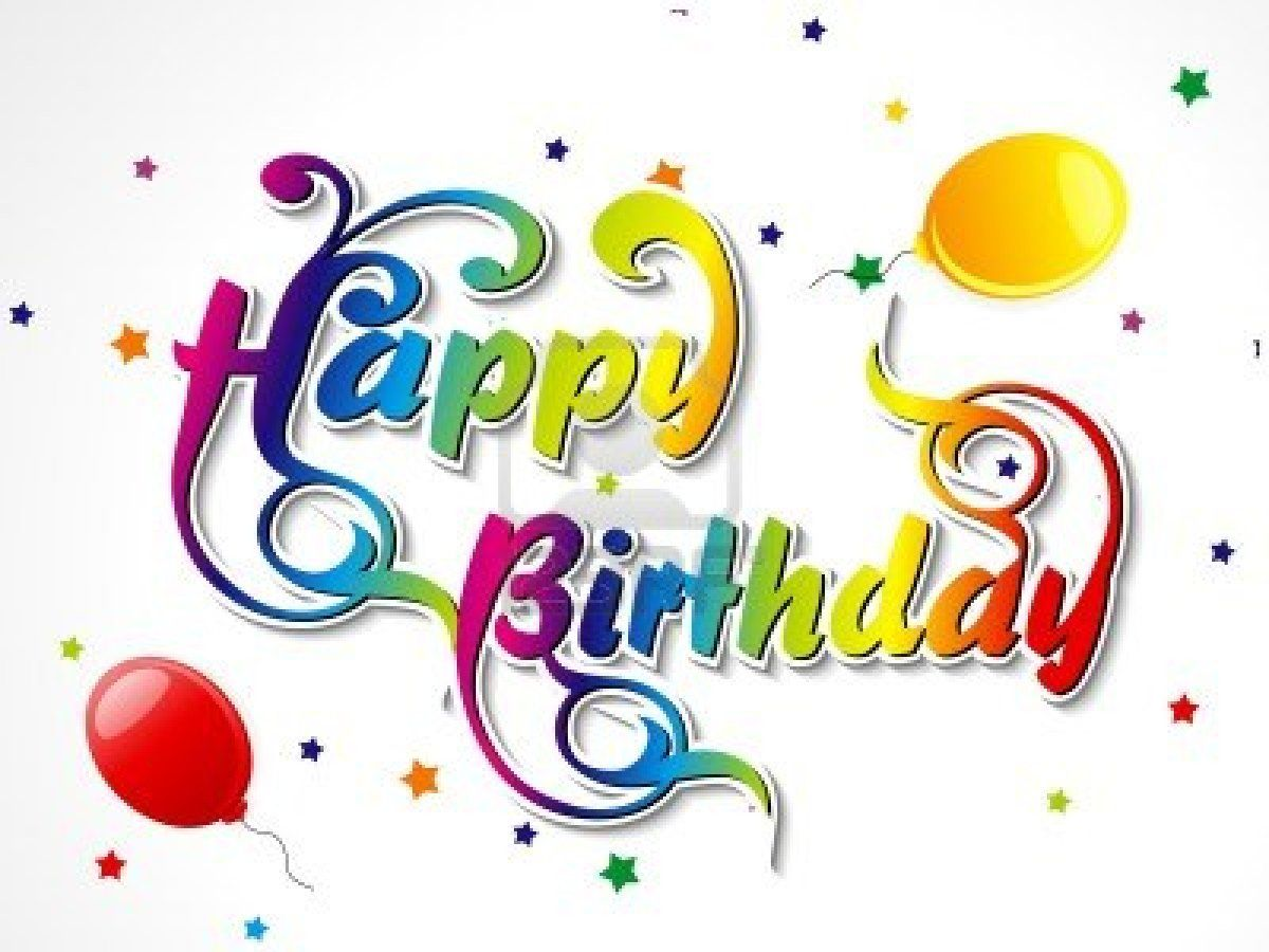 Happy Birthday Clip Art – Free Birthday Messages for Cards
