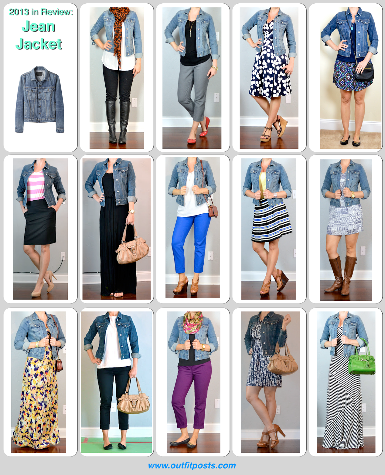 8c75b10a27 2013 in review - outift posts: jean jacket (Outfit Posts) | Its a ...