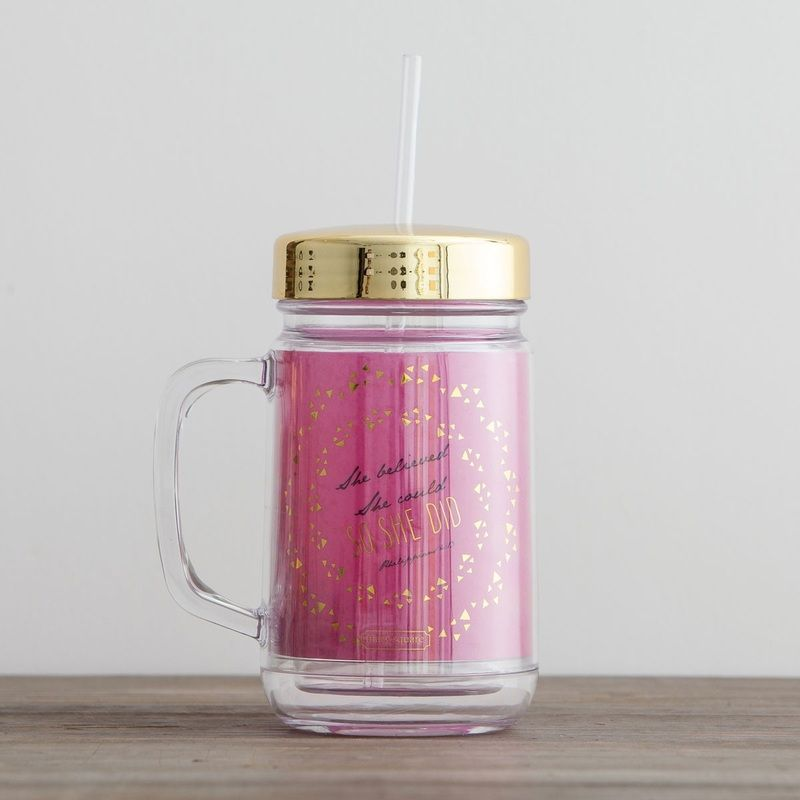 A healthy woman mason jar tumbler mason jars