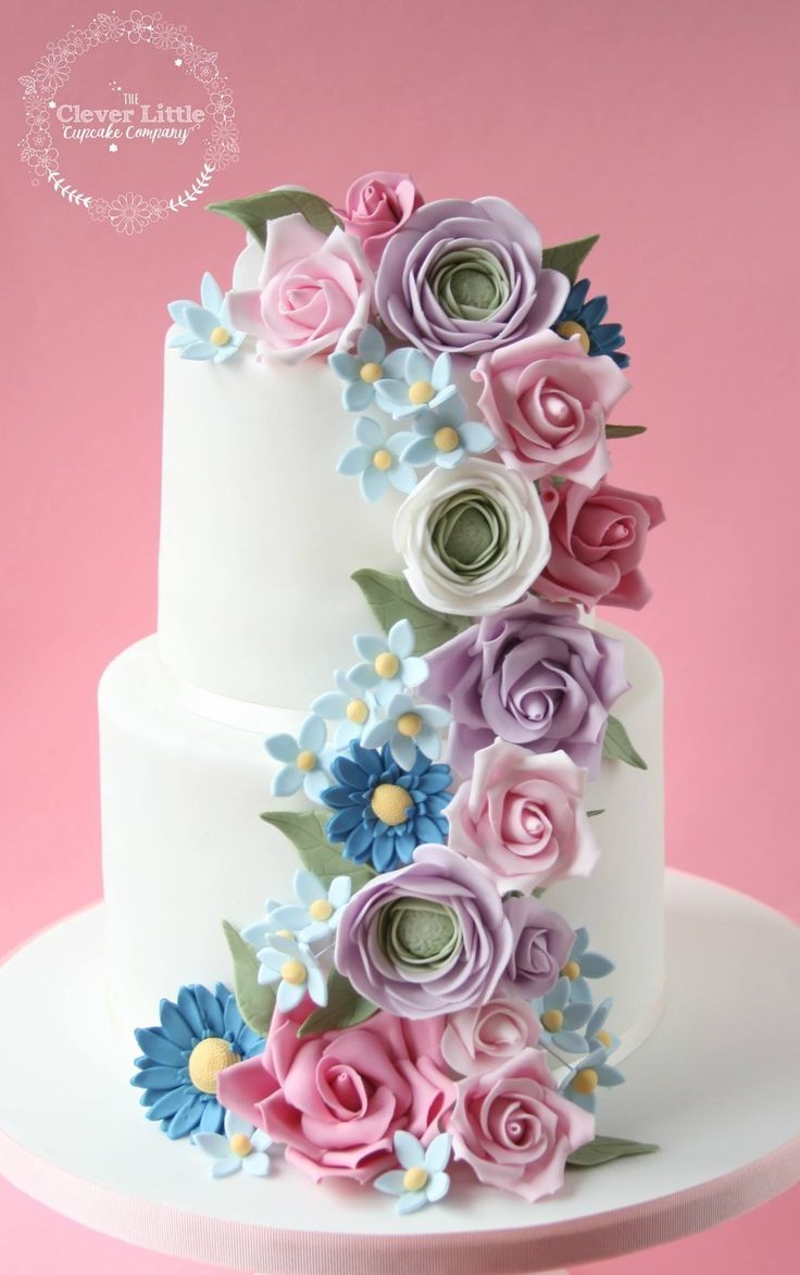 Image Result For 70th Birthday Cake With Flowers Cake Ideas