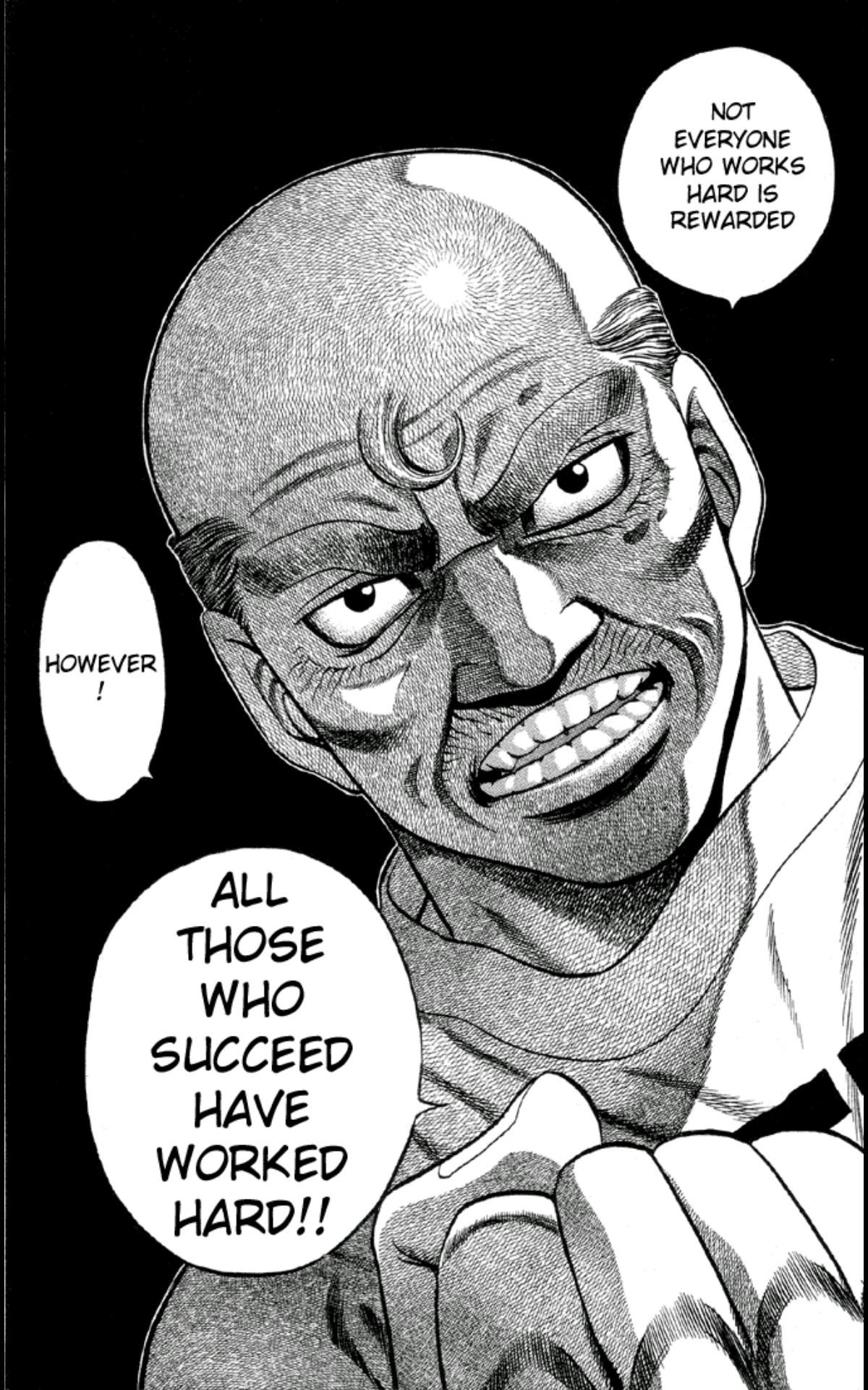 Image Wise words from the Manga Hajime no ippo http ...