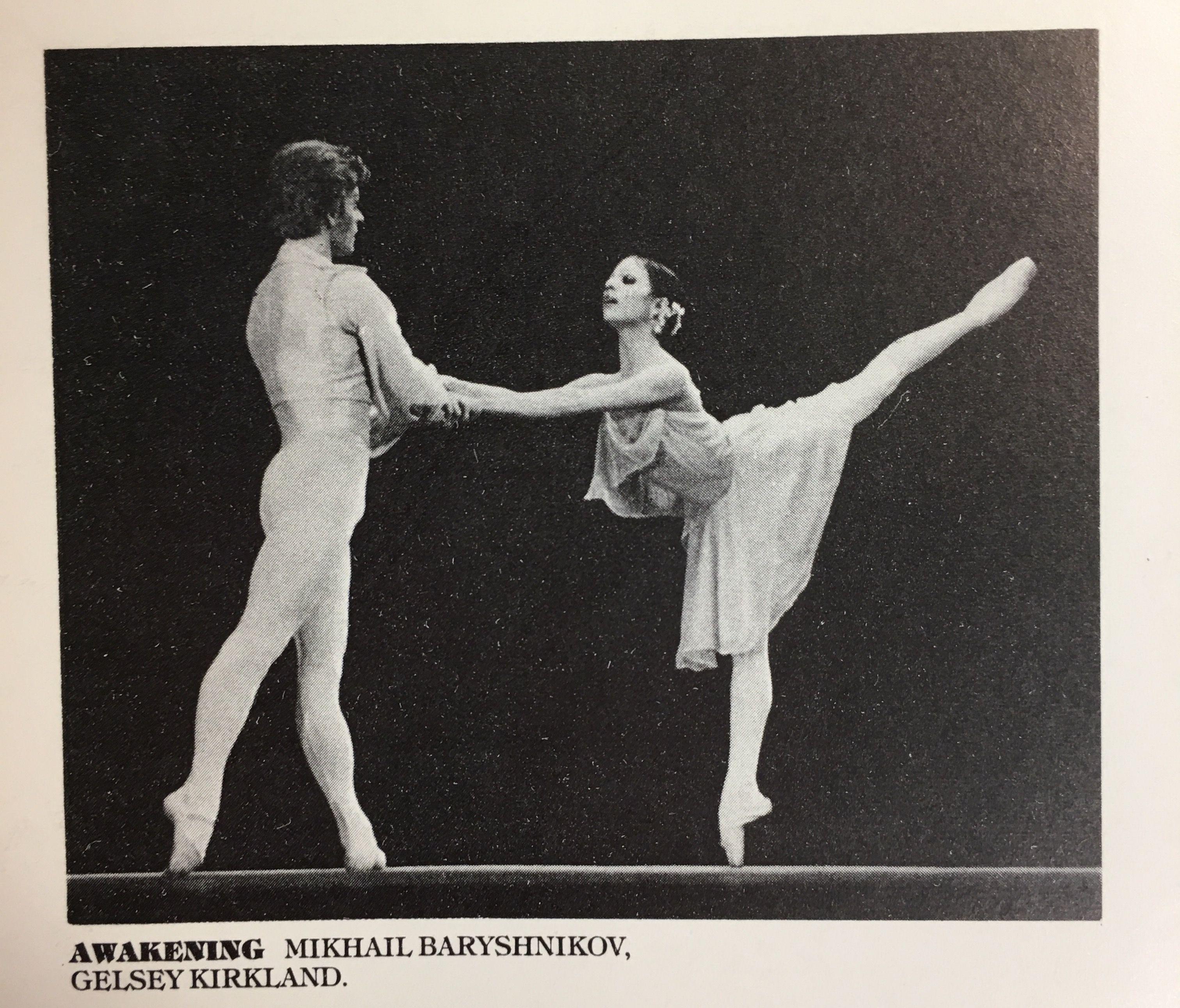 gelsey kirkland and mikhail baryshnikov relationship