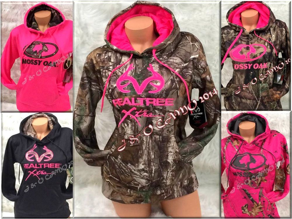 Ladies t-shirt Mossy Oak decal pink design women/'s size tee shirt