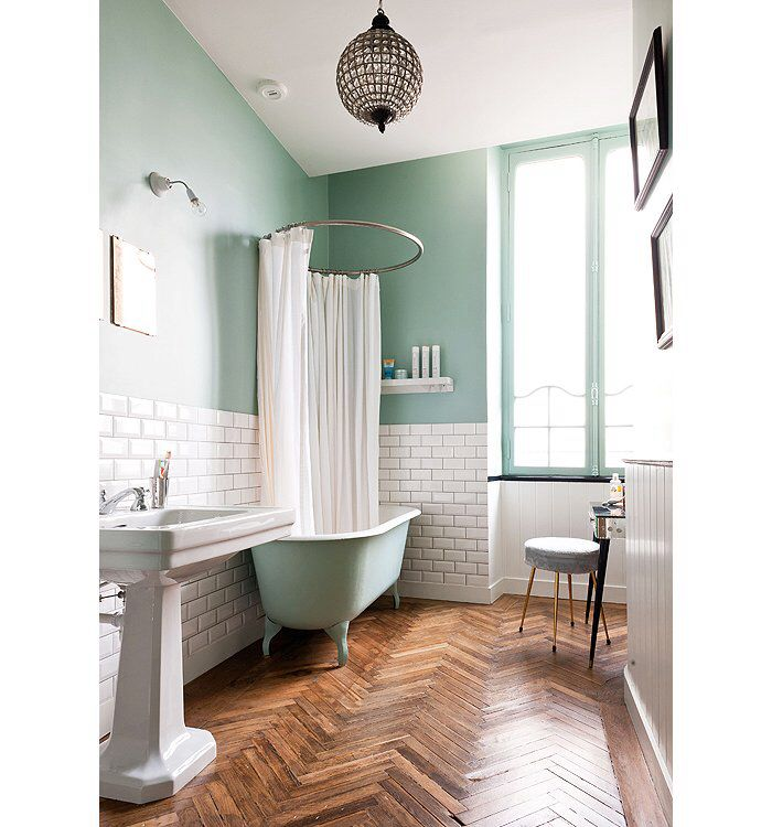 Almost My Ideal Bathroom But The Beauty Is In That Floor Love It