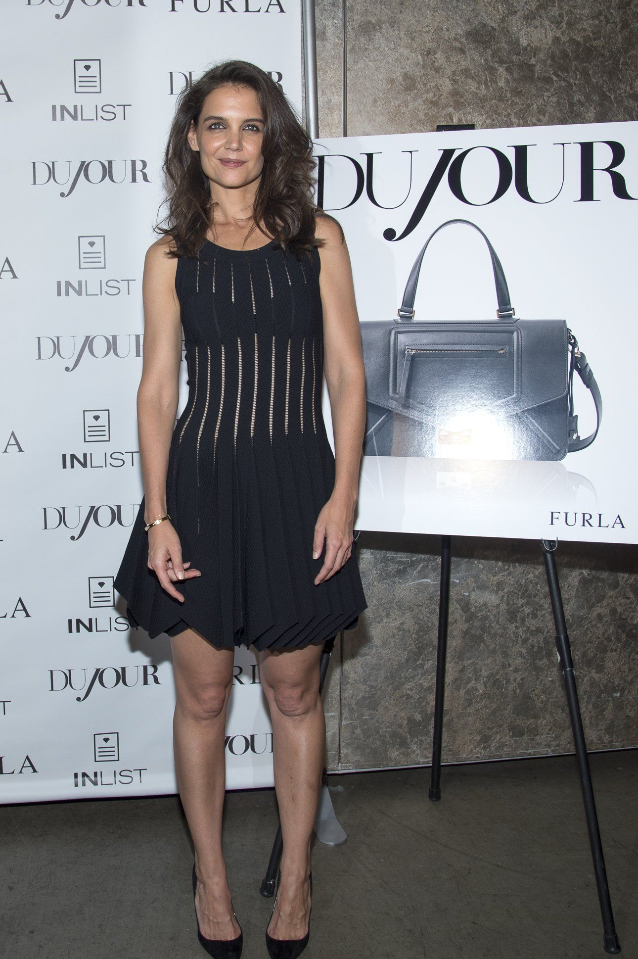 Katie Holmes – DuJour Mag Fall Cover Party in New York City 16.09.14
