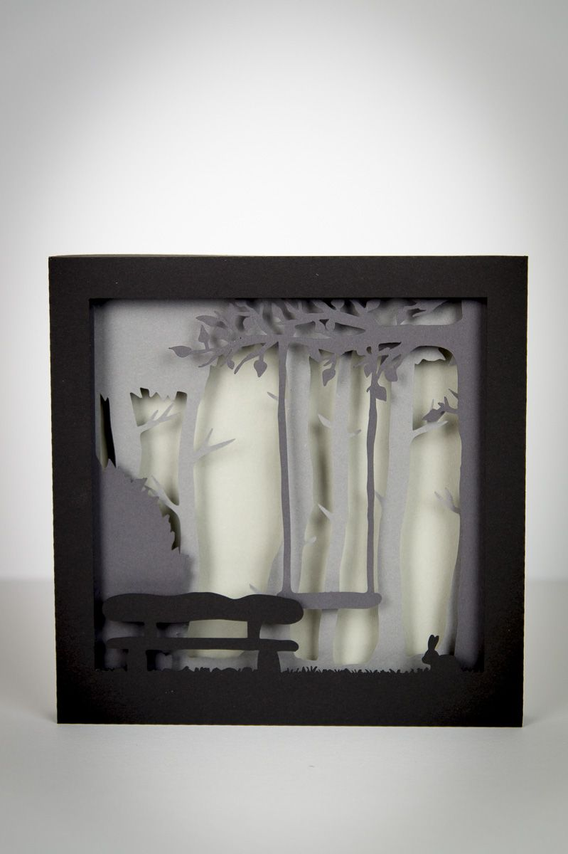 3D Scherenschnitt-Bild *Plotter-Freebie* - WeSeLbLoG.com   Ribba ...