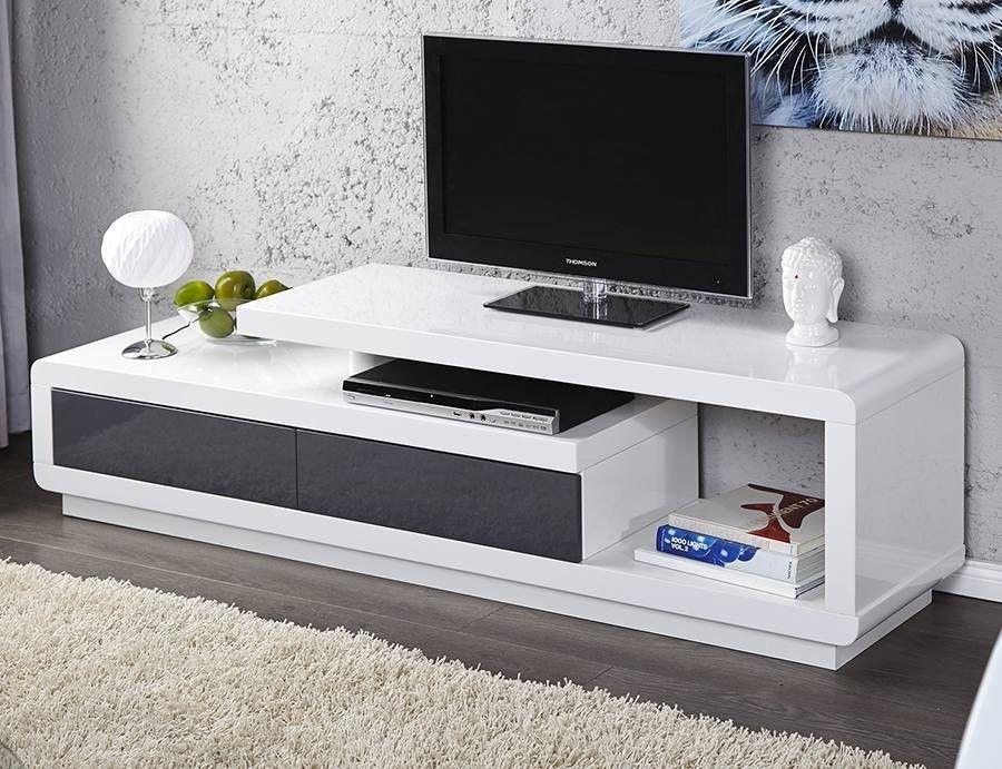 Bialo Grafitowy Stolik Rtv Spring Internetowy Sklep Meblowy Onemarket Pl Nowoczesne Meble Desi In 2020 Tv Unit Furniture Living Room Tv Unit Designs Tv Unit Decor