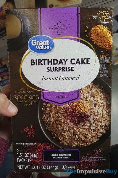 The Oatmeal Birthday Cakes Fast Food Reviews Types Of Cereal Party Packs Junk Granola