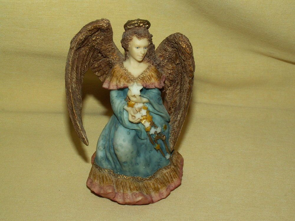 Angel Figurine United Design Corp Star Flight Sapphire Aa 099 Star