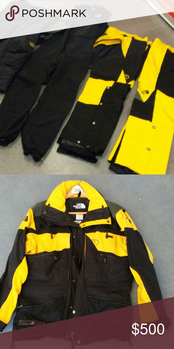 VINTAGE NORTH FACE HEAVY SKI JACKET AND MATCHING S New pants jacket used  just 2 times 6bf5a2da1