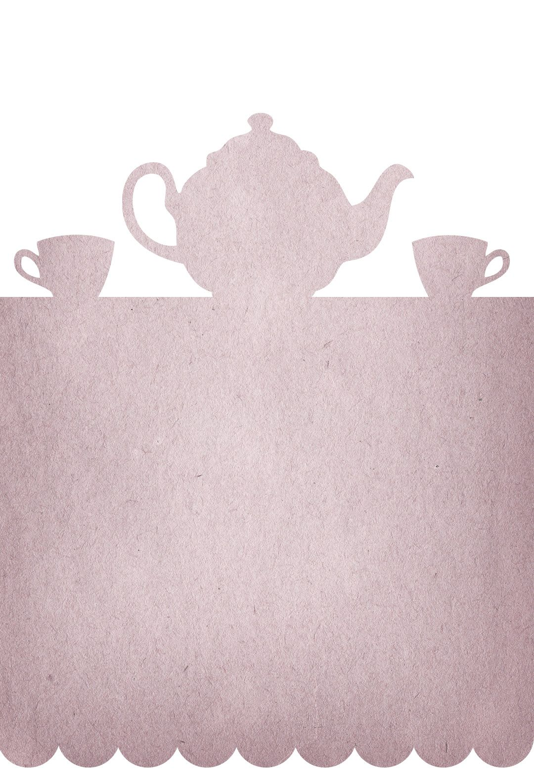 Tea Party - Free Printable Party Invitation Template | Greetings ...
