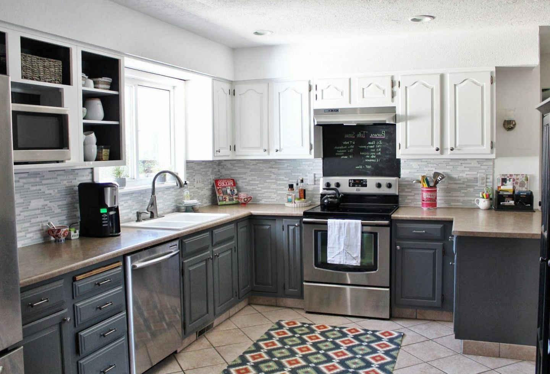 Image result for white black stainless appliances