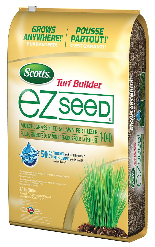 Scotts Turf Builder Ez Seed 4.54 Kg Bag Grass seed