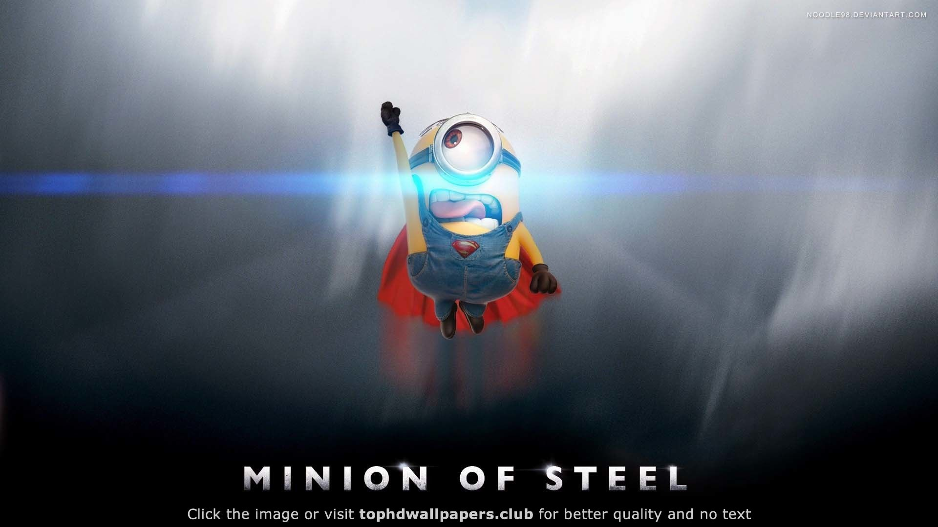 Flying Funny Flare Man Of Steel Minion   Wallpaper ( / Wallbase.cc On  Imgfave