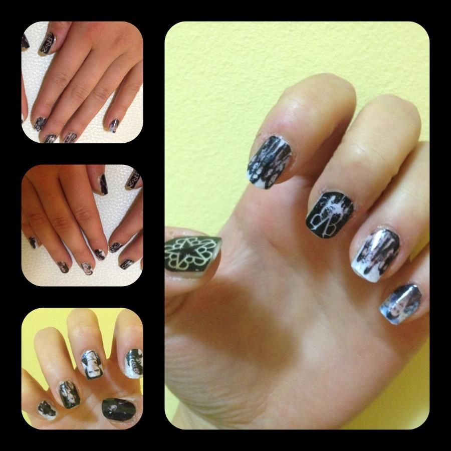 bvb nails <3 | Nails\'! | Pinterest