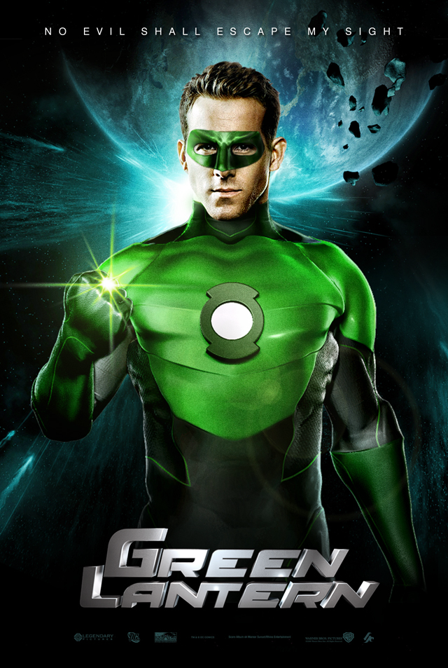 The Green Lantern Movie Poster by hyzak on DeviantArt | DC ... Green Lantern Movie Poster