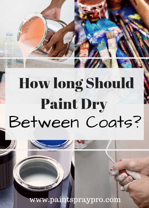 How Long Should Paint Dry Between Coats Finish Your Projects Faster Paint Remover Best Paint Sprayer Paint Drying