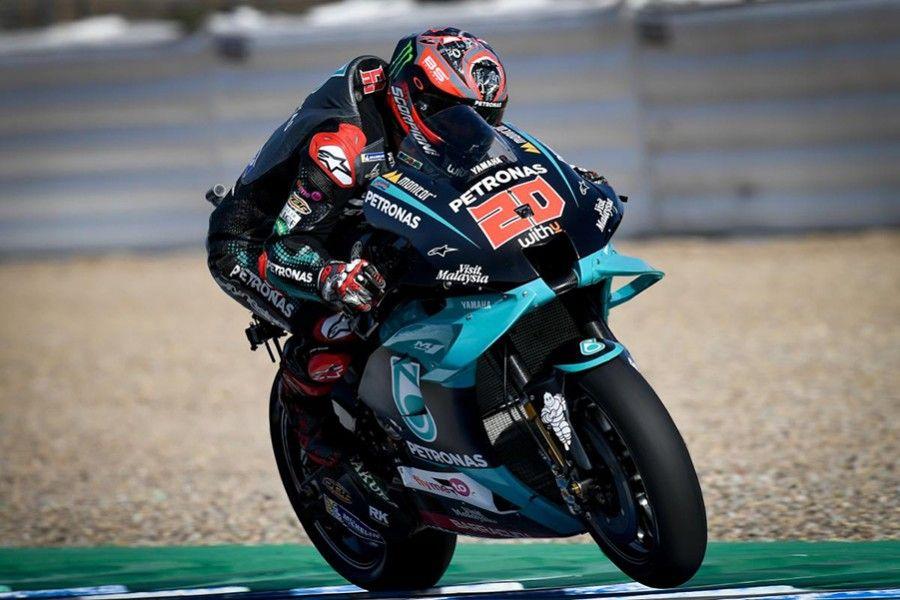 Motogp Spanish Fabio Quartararo Claims Pole In Dramatic Jerez Qualifying In 2020 Motogp Jerez Marc Marquez