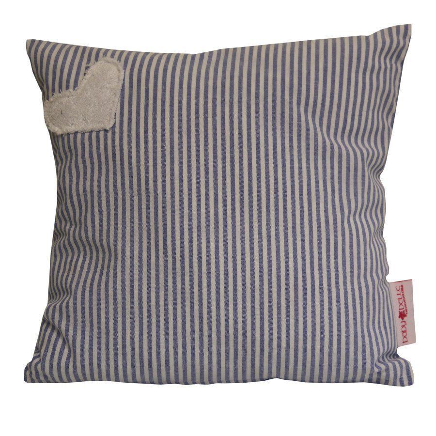 Hearts Range Blue - Scatter Cushion