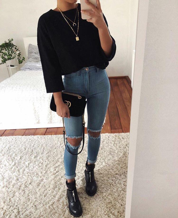 Pinterest Kacysing Cute Outfits Basic Outfits Fashion Outfits